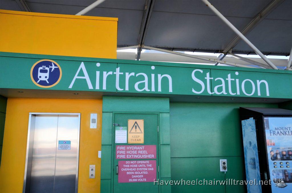 Air Train - wheelchair accessible transport Brisbane Airport
