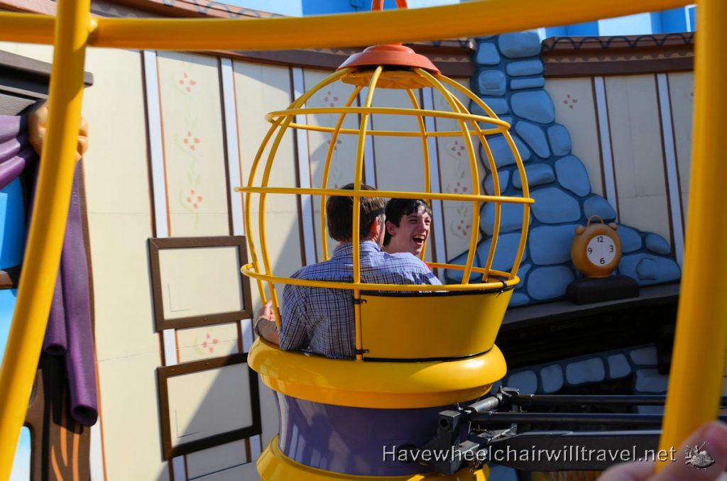 Movie World - accessible Gold Coast