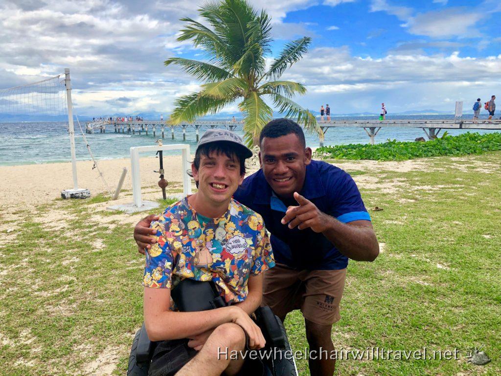 Malamala Beach Club Fiji - staff - Have Wheelchair Will Travel