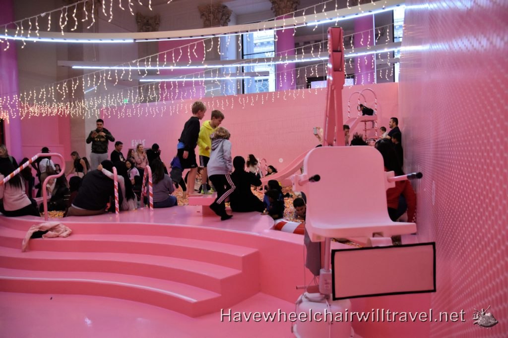 Museum of Ice Cream San Francisco - accessible San Francisco - Have Wheelchair Will Travel