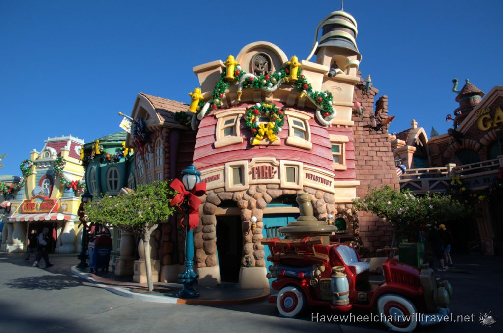 Disneyland at Christmas - Have Wheelchair Will Travel