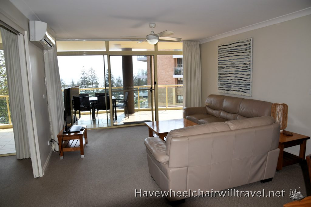 Northpoint Apartments Port Macquarie - accessible Port Macquarie - Have Wheelchair Will Travel