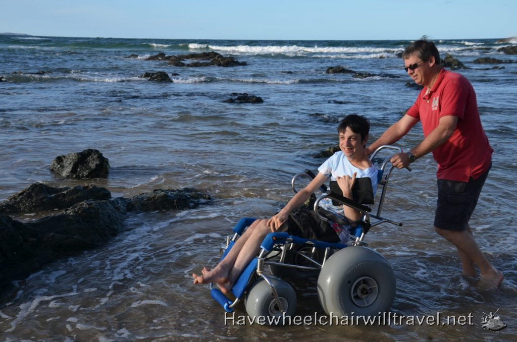 Port Macquarie's accessible beaches - Have Wheelchair Will Travel