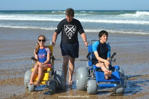 REVIEW OF THE SANDCRUISER AND SANDPIPER BEACH WHEELCHAIRS