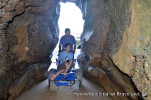 WHEELCHAIR ACCESSIBLE CAVES