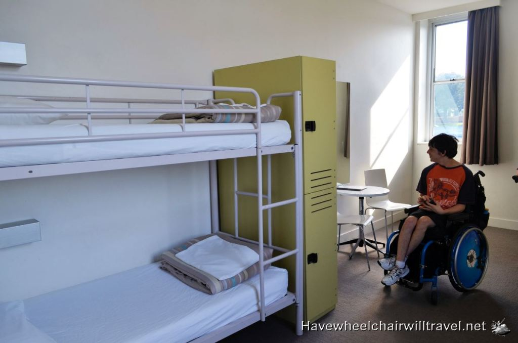 Shared accommodation at Sydney Harbour YHA