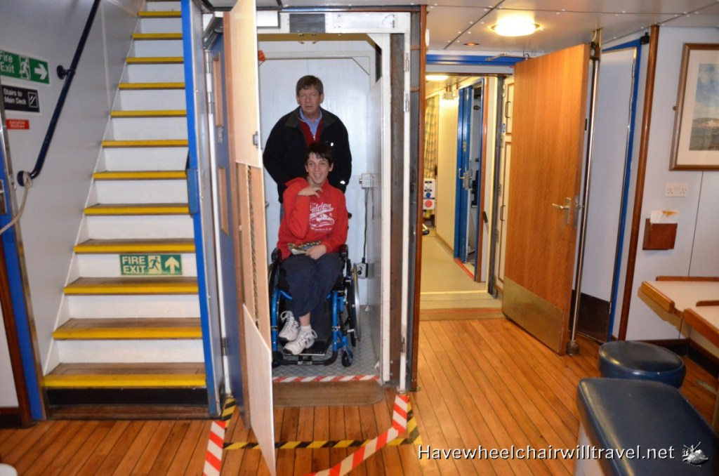 Accessible tall ship