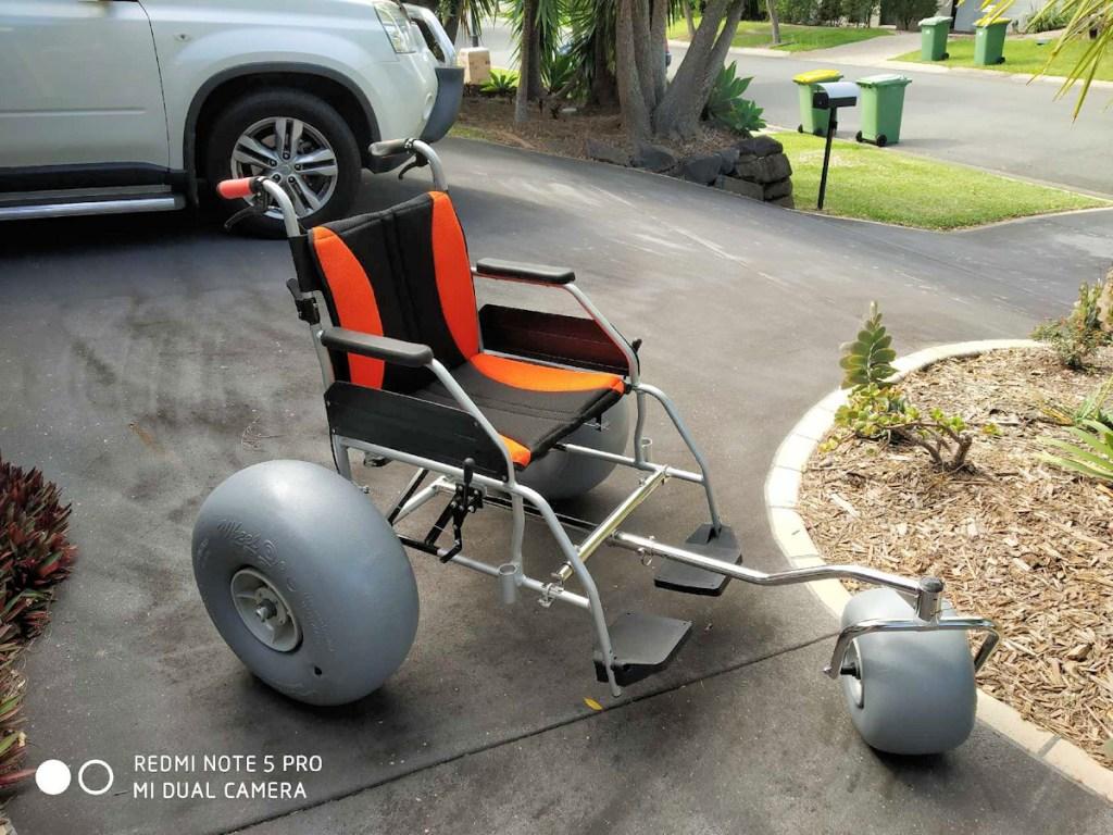 Beachwheels conversion kit