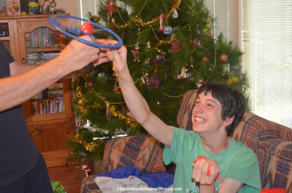 Enjoying Christmas special needs