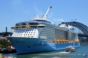 OVATION OF THE SEAS –  ACCESSIBLE CRUISE SHIP