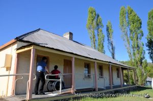OLD TRAHLEE – ACCESSIBLE ACCOMODATION HARTLEY HISTORIC SITE