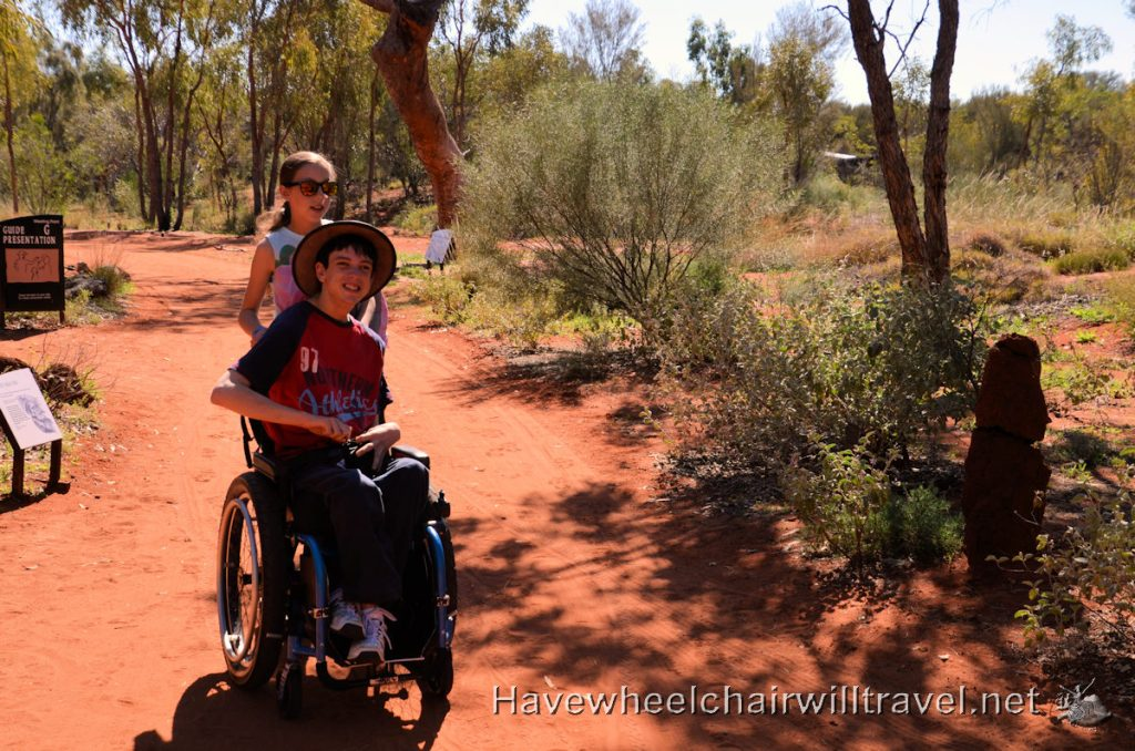 Alice Springs wheelchair accessible activities