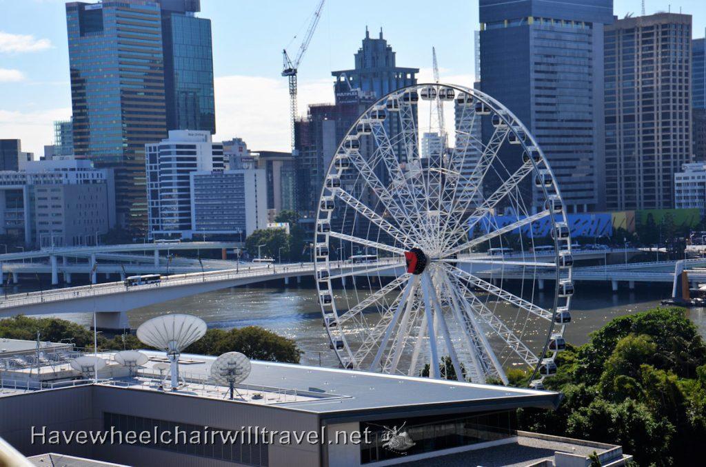 Wheel of Brisbane - accessible activities Brisbane