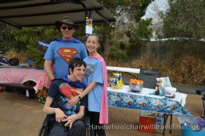 BEAR COTTAGE SUPERHERO FUNDRAISER – HAVE WHEELCHAIR WILL TRAVEL