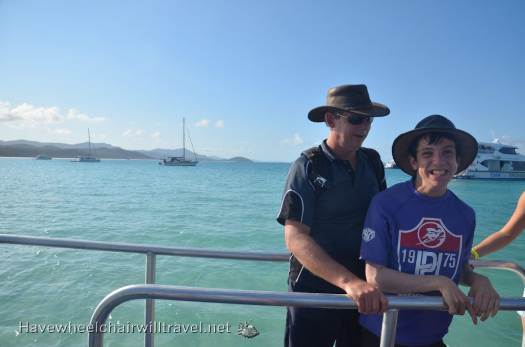Cruise Whitsundays - wheelchair friendy Whitehaven Beach