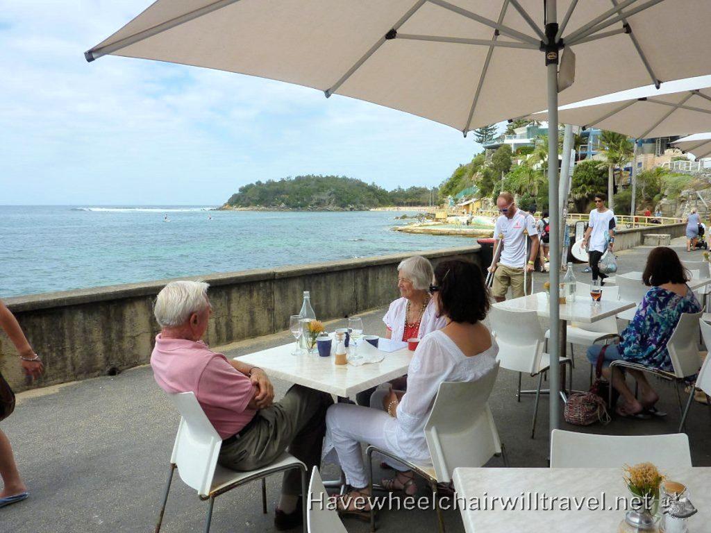 Manly Beach - wheelchair accessible Sydney