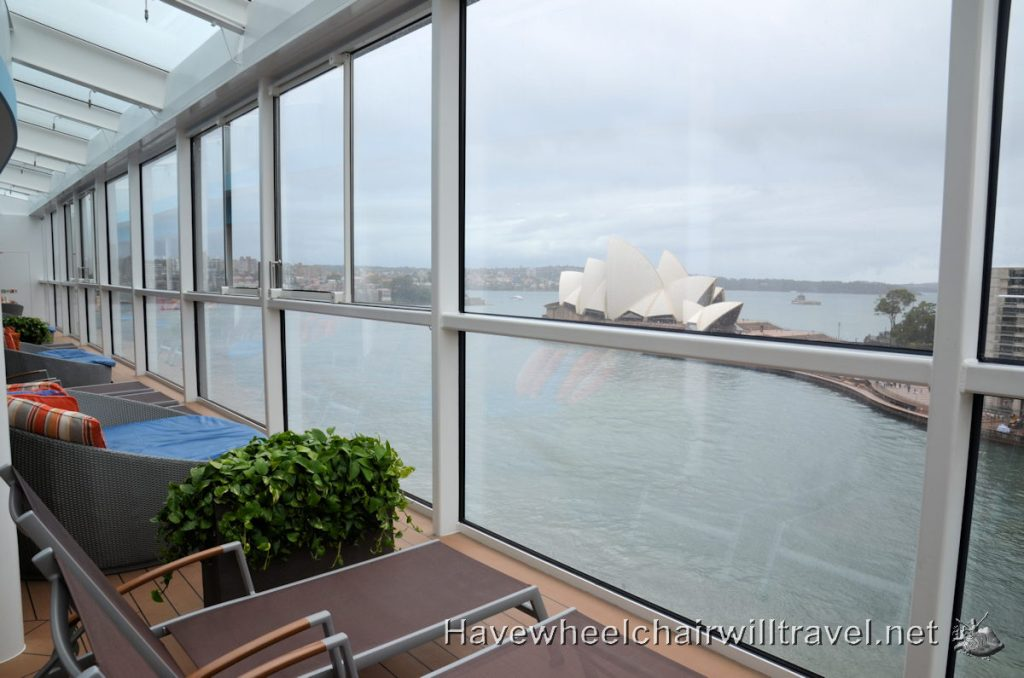 Royal Caribbean Ovation of the Seas - wheelchair accessible cruising