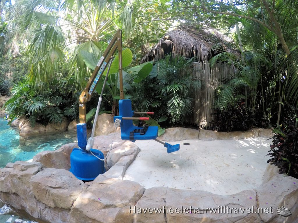 Discovery Cove access