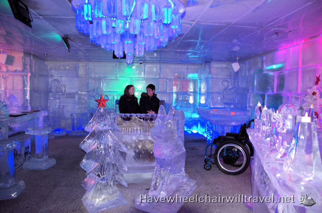Minus 5 Ice Bar Queenstown - accessible New Zealand