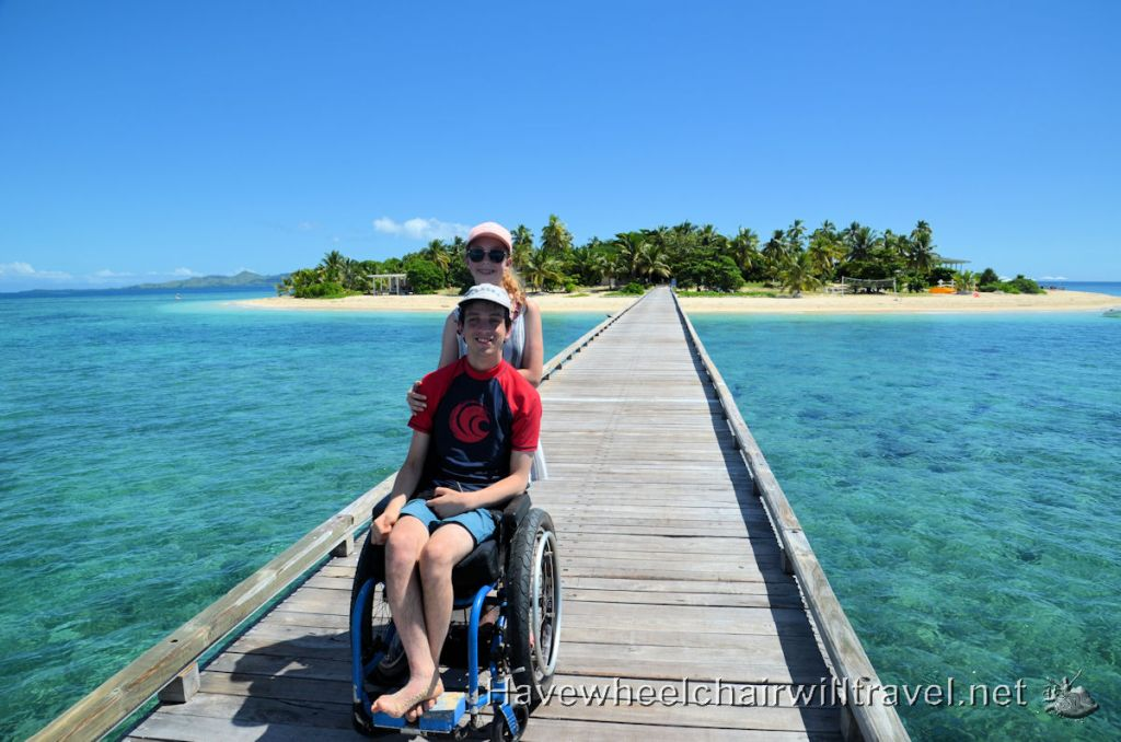 Malamala Beach Club Fiji - jetty access - Have Wheelchair Will Travel