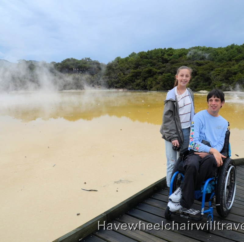 Wai-O-Taupu Thermal Wonderland - Geothermal Park - Have Wheelchair Will Travel