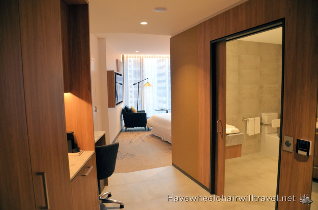 The Westin Brisbane - Accessible Accommodation Brisbane Hotel Rooms - Have Wheelchair Will Travel