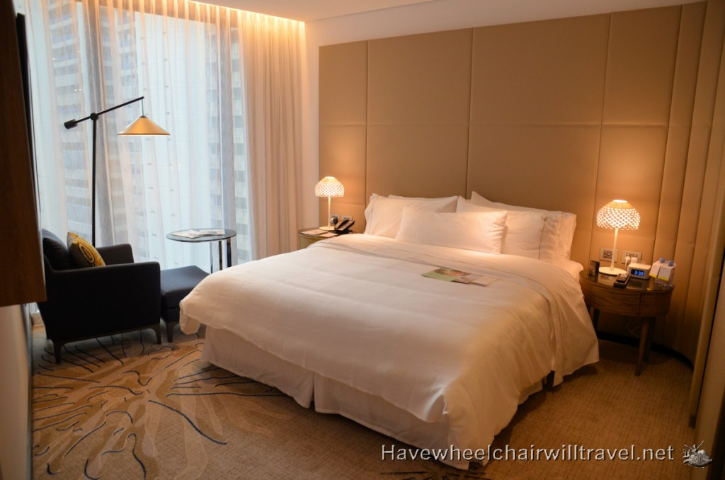 The Westin Brisbane Accessible Room with King Heavenly Bed - Accessible Accommodation Brisbane - Have Wheelchair Will Travel