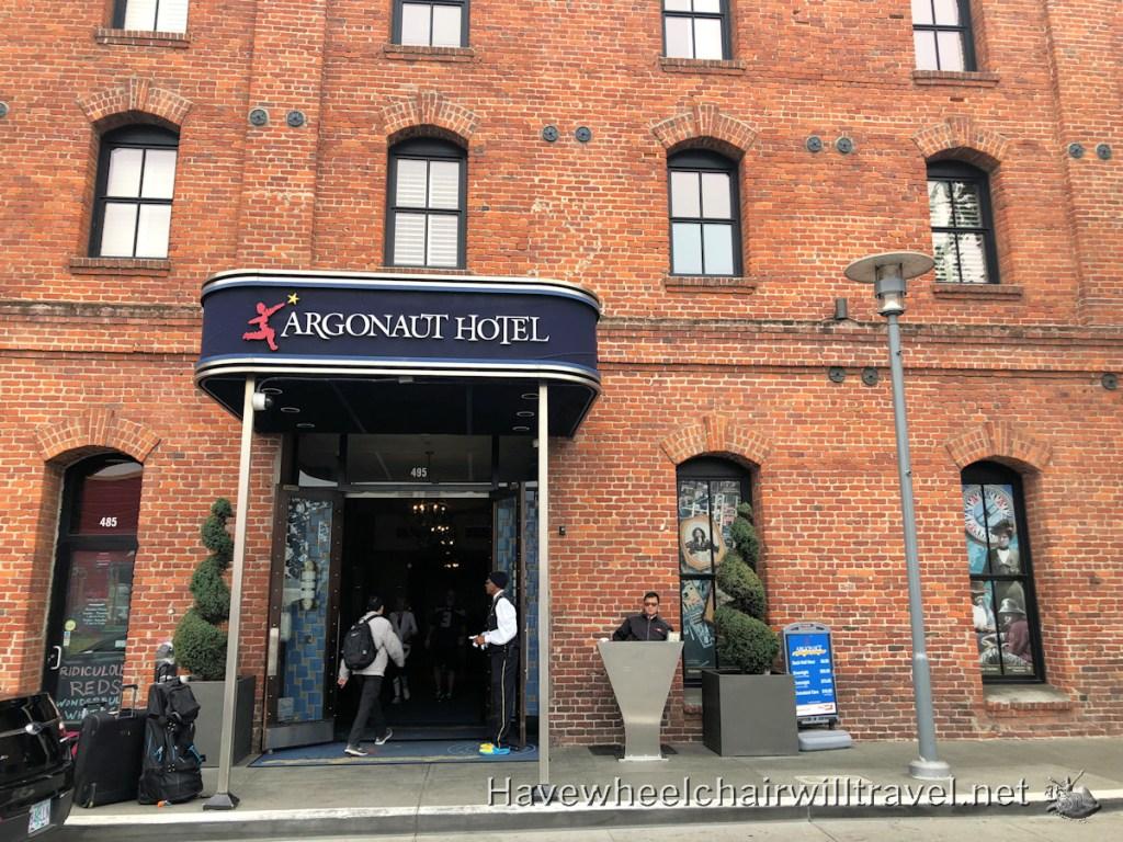 Argonaut Hotel - accessible San Francisco - Have Wheelchair Will Travel