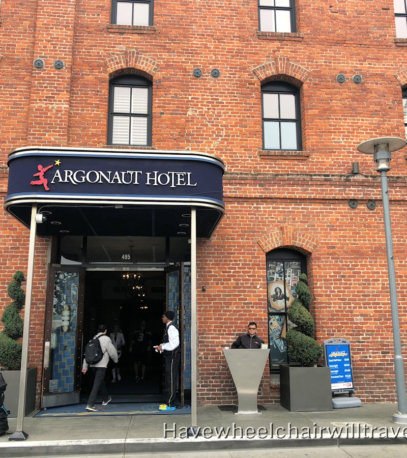 Argonaut Hotel - accessible San Francisco - Have Wheelchair Will Travel