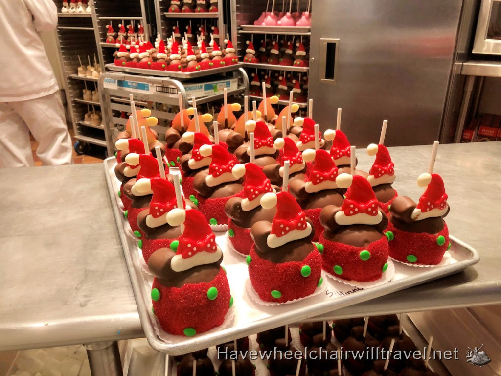 Christmas at Disneyland - festive food - Have Wheelchair Will Travel