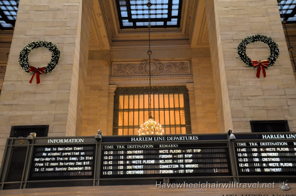 Grand Central Terminal - New York - Have Wheelchair Will Travel