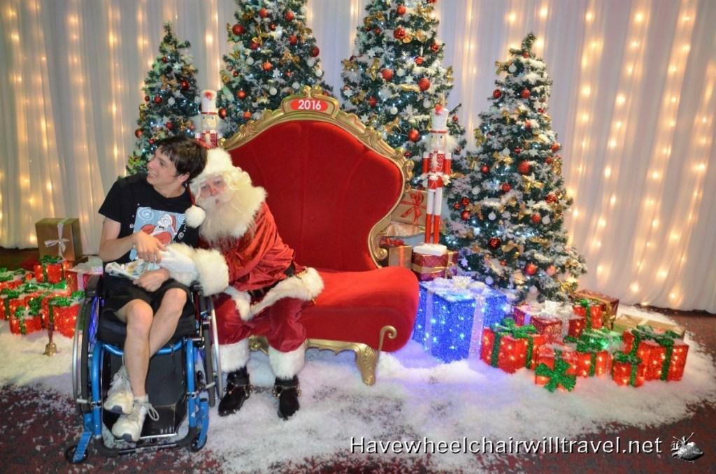 Sydney Santa Spectacular - Have Wheelchair Will Travel