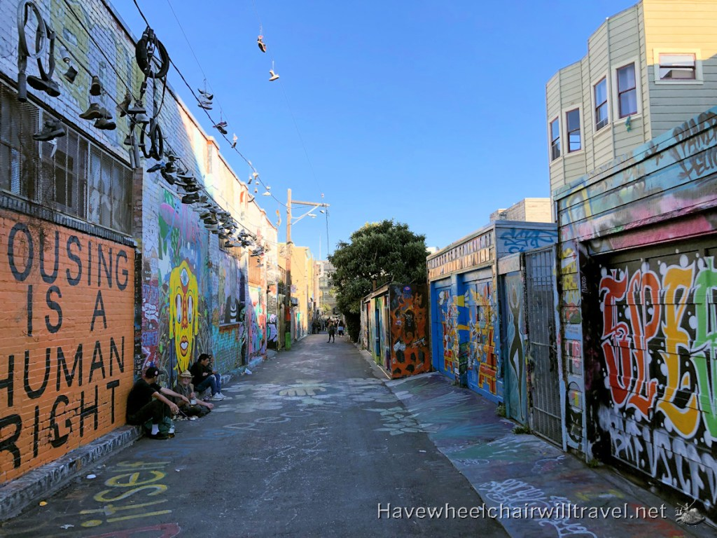 Clarion Alley - Creativity Explored accessible art San Francisco - Have Wheelchair Will Travel