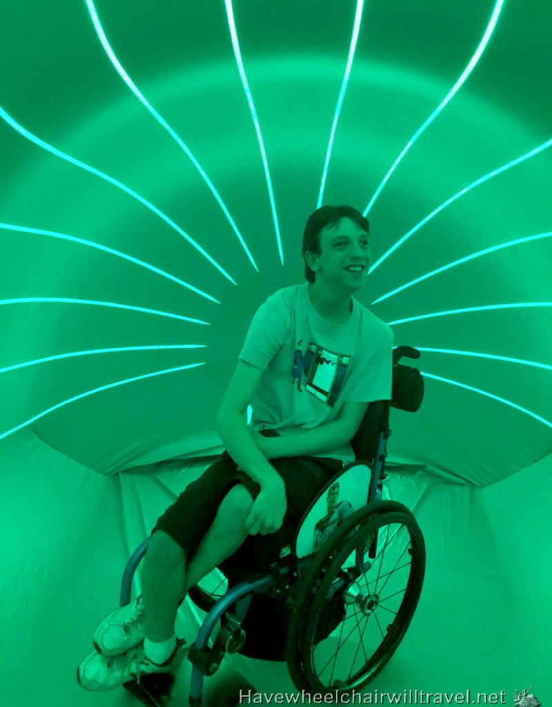 Dodecalis Luminarium Sydney Festival - Have Wheelchair Will Travel