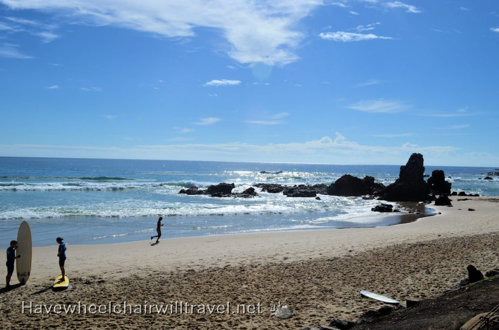 Port Macquarie - accessible beaches - Have Wheelchair Will Travel