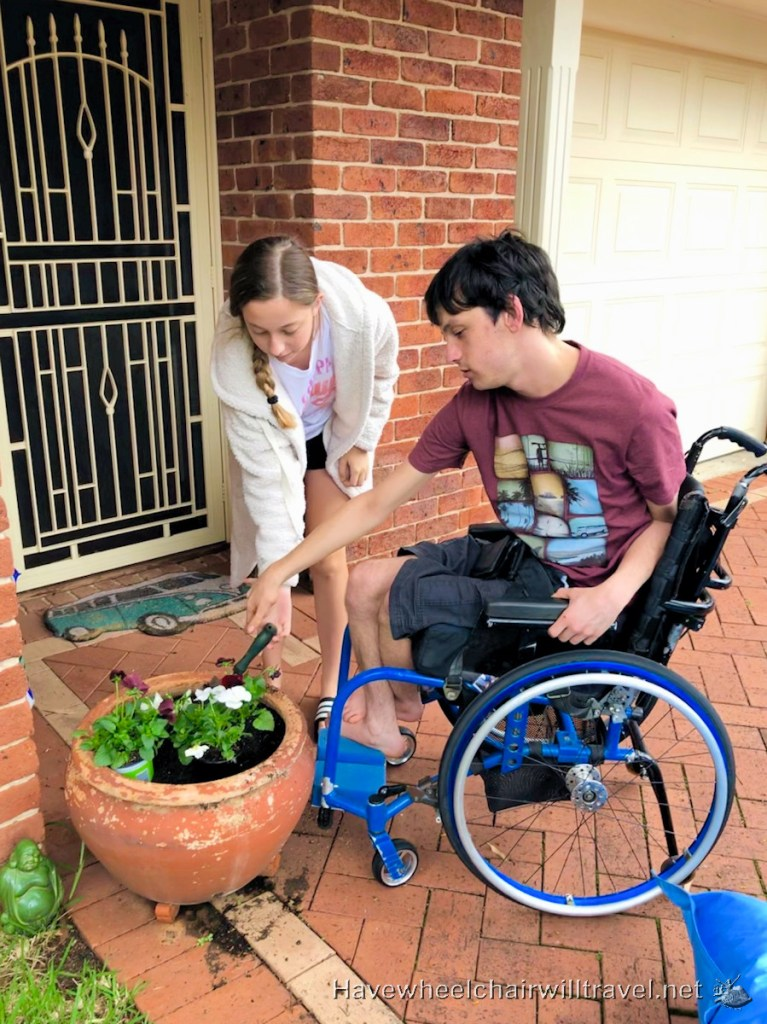 Stay at home fun - Have Wheelchair Will Travel