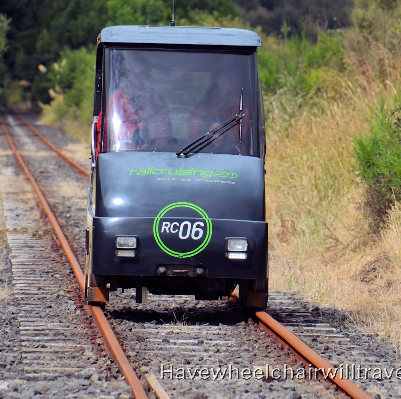 Rail Cruising Rotorua - accessible New Zealand - Have Wheelchair Will Travel