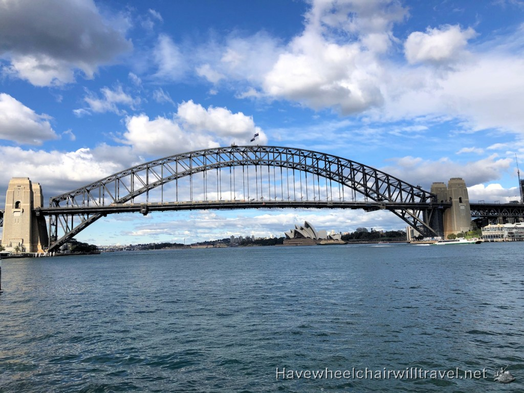 Top 5 Accessible viewing locations of Sydney Harbour Bridge & Opera House - Have Wheelchair Will Travel