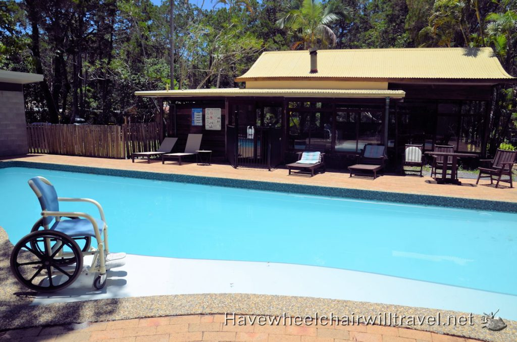 Bryon Bay Rainforest Retreat pool access - Have wheelchair Will Travel
