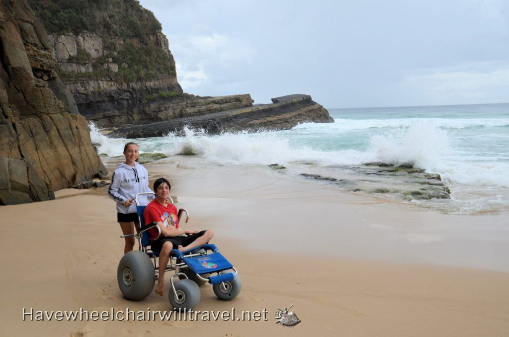 Transporting a beach wheelchair - Have Wheelchair Will Travel