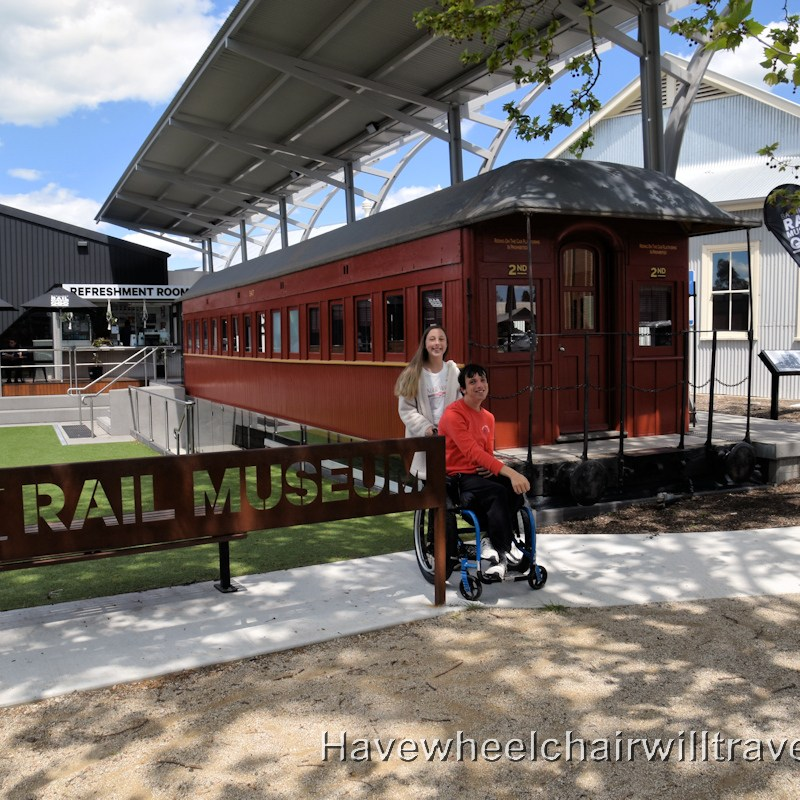 Bathurst Rail Museum - Accessible Bathurst - Have Wheelchair Will Travel