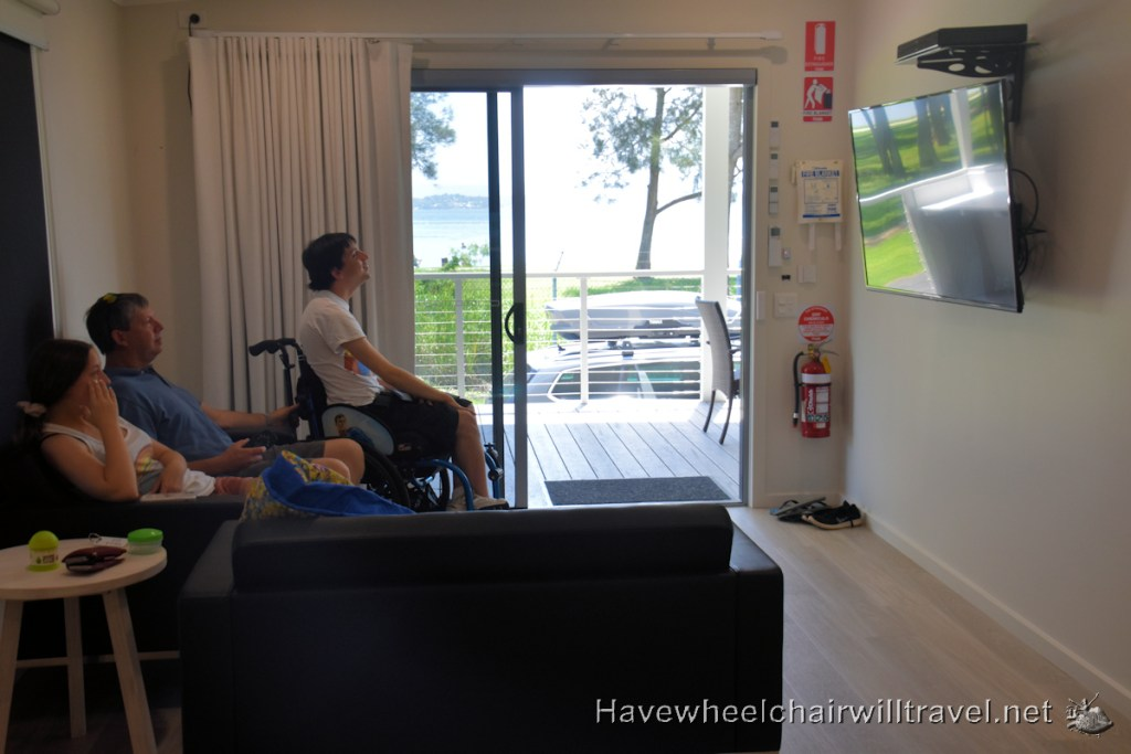 Swansea Lakeside Holiday Park accessible villa - Have Wheelchair Will Travel
