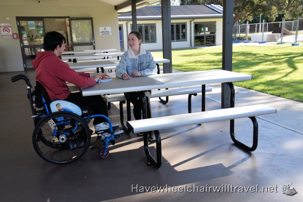 Swansea Lakeside Holiday park facilities - Have Wheelchair Will Travel