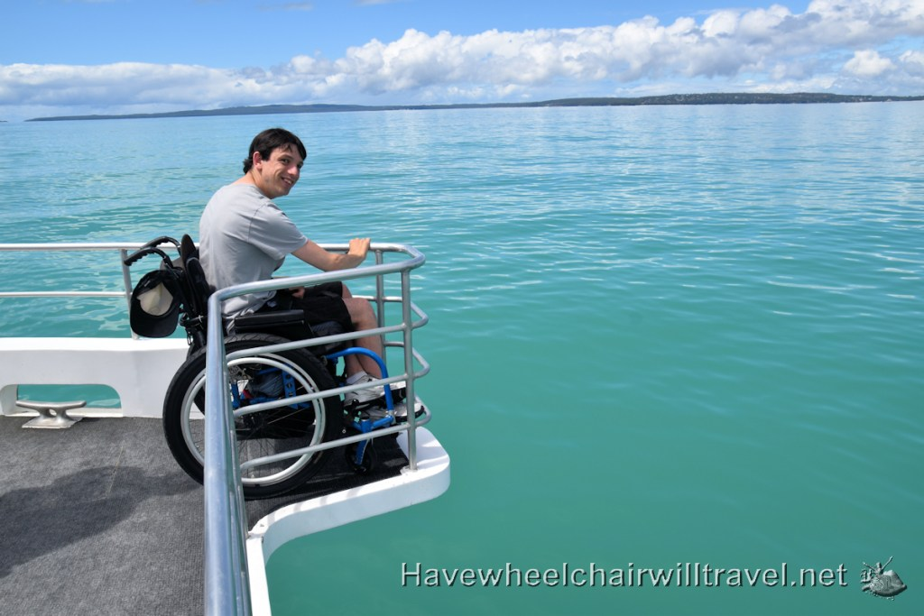 Jervis Bay Wild - accessible dolphin watching Jervis Bay - Have Wheelchair Will Travel
