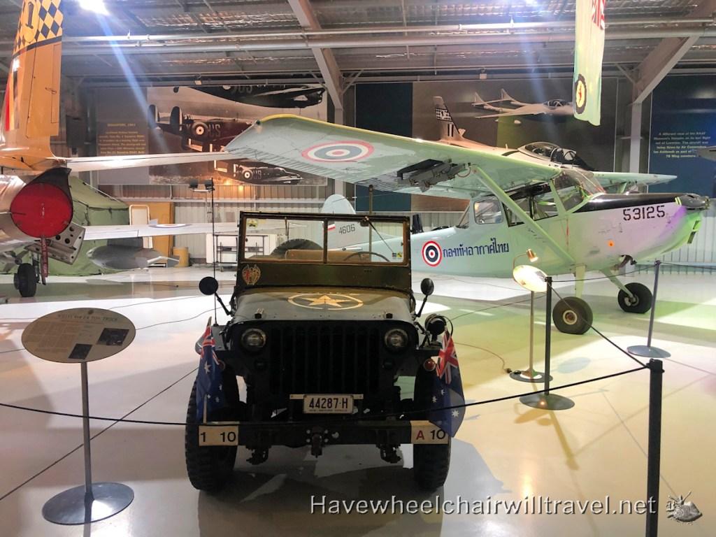 Temora Aviation Museum - wheelchair access - Have Wheelchair Will Travel