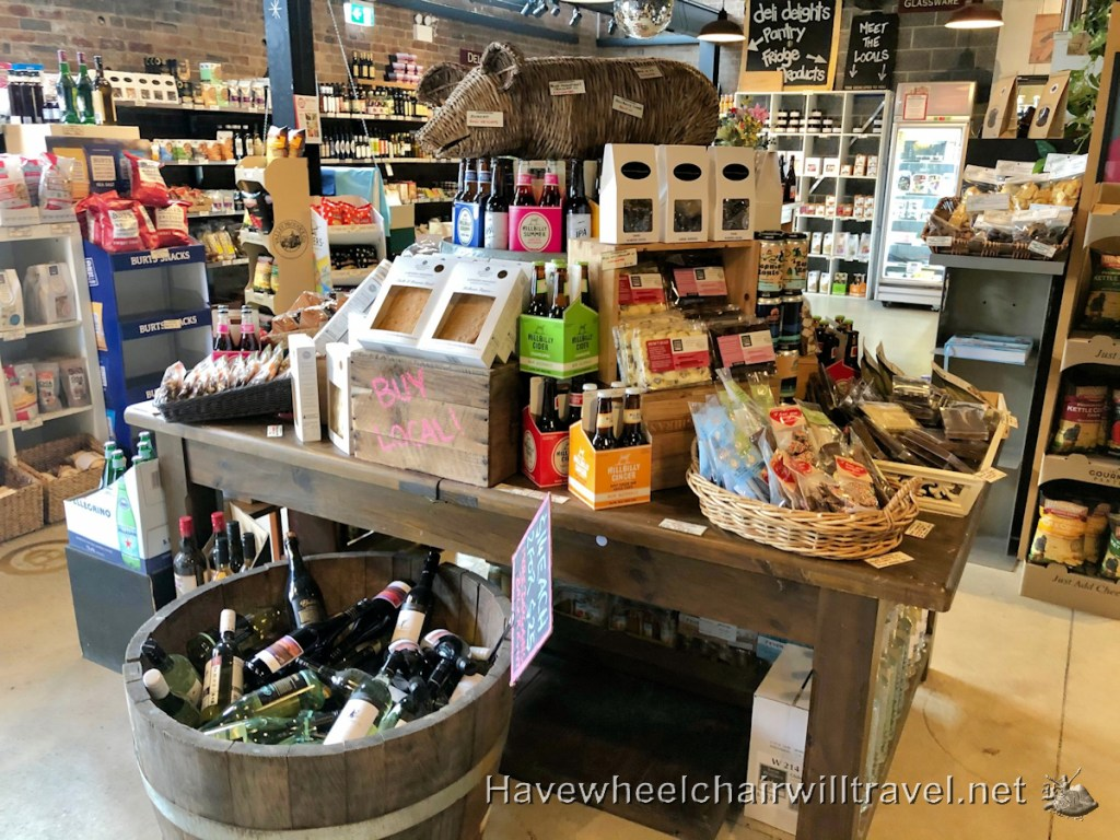 Katoomba Cellars & Deli - accessible Blue Mountains - Have Wheelchair Will Travel