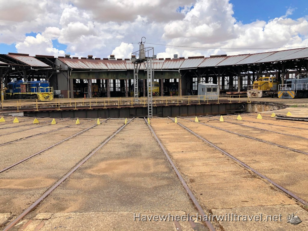Junee Roundhouse Railway Museum - Have Wheelchair Will Travel