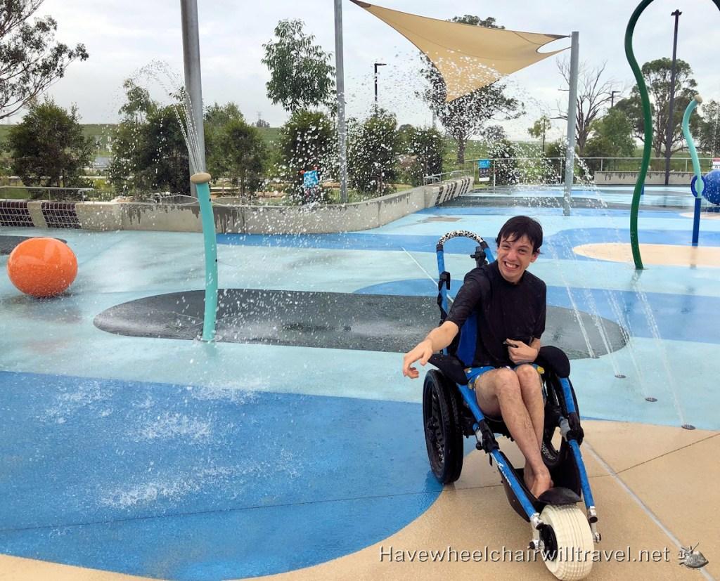 Dawson-Damer Water Park Oran Park - Have Wheelchair Will Travel