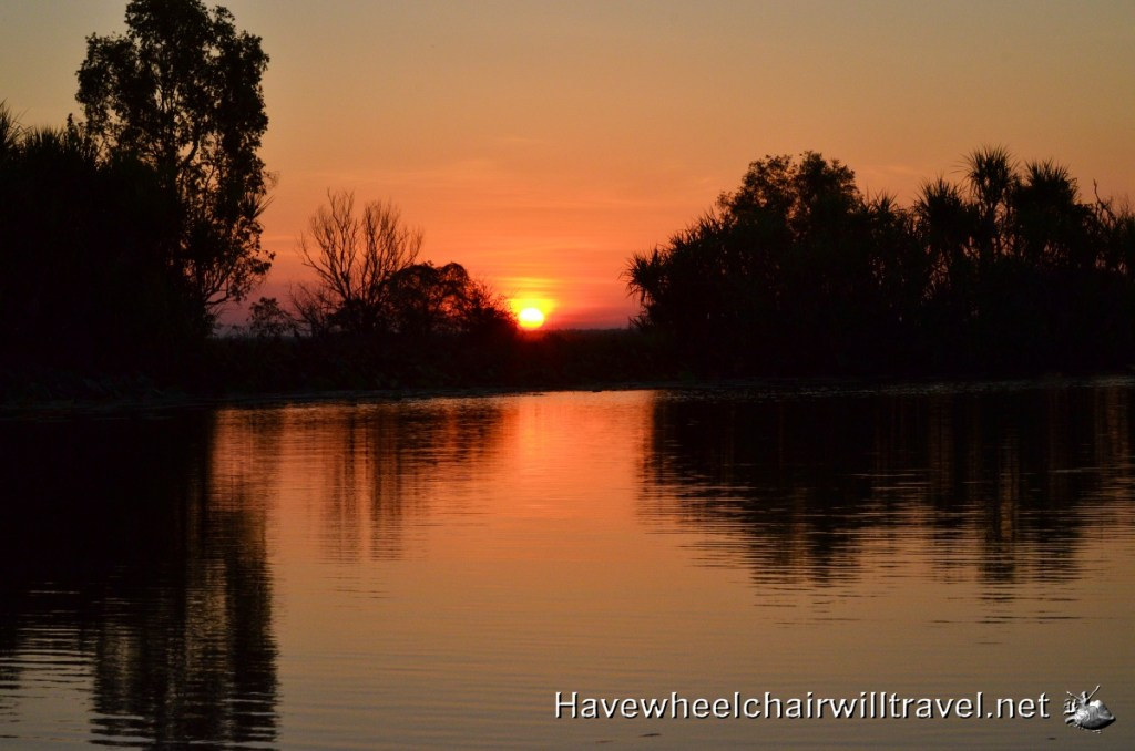 sunset Northern Territory - Have Wheelchair Will Travel
