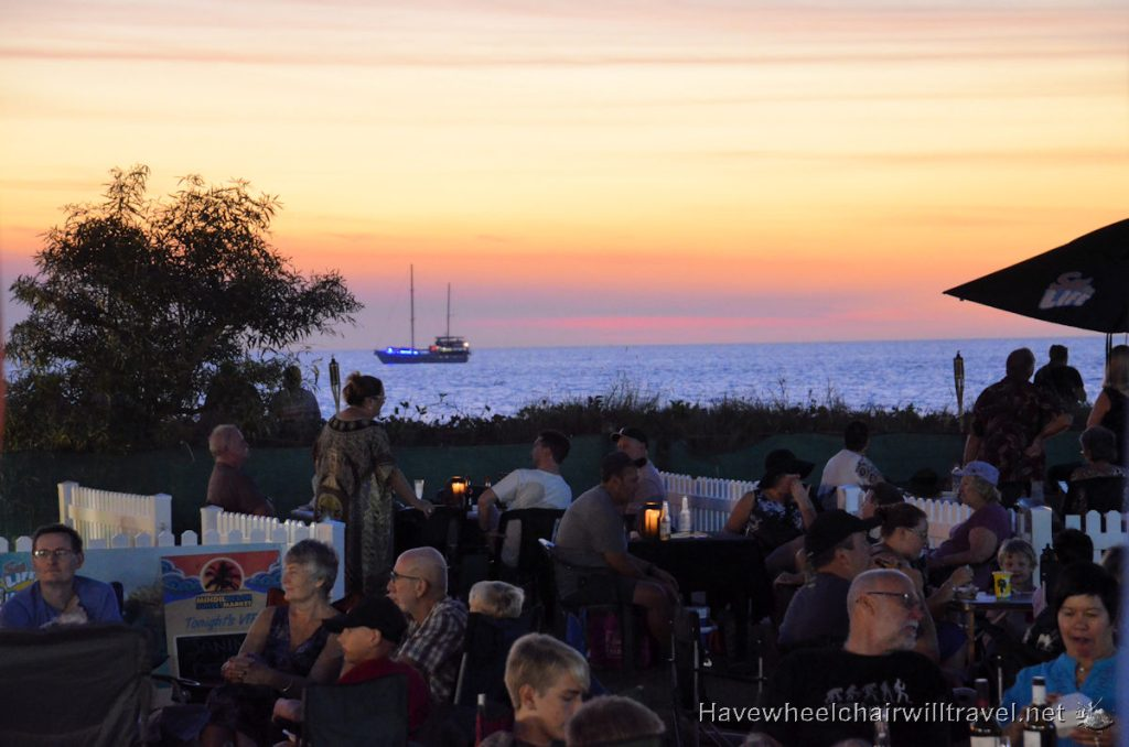 Mindil Beach Markets - accessible Northern Territory - Have Wheelchair Will Travel